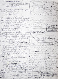 Draft #2 in Kierkegaard's Hand