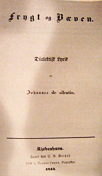 The Original Title Page